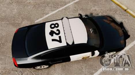 Dodge Charger 2010 LCHP [ELS] para GTA 4 vista direita