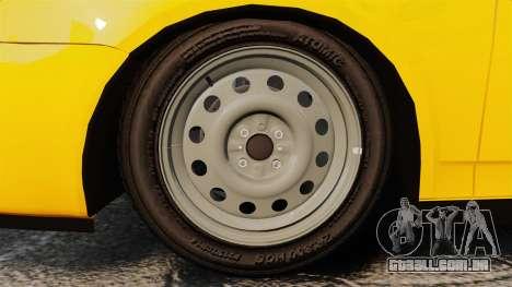 VAZ-Lada 2170 Priora para GTA 4 vista de volta
