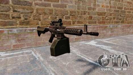 Ares Shrike 5,56 metralhadora leve para GTA 4