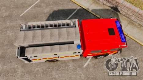Scania 94D 260 BAS1 Stockholm Fire Brigade [ELS] para GTA 4 vista direita