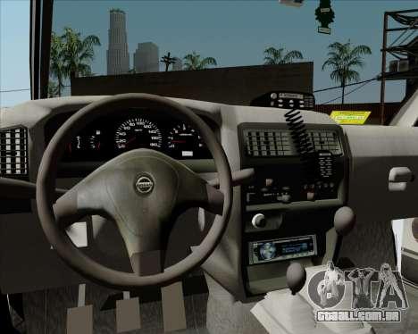 Nissan Terrano para GTA San Andreas vista inferior