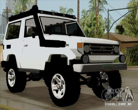 Toyota Land Cruiser Machito 2009 LX para GTA San Andreas