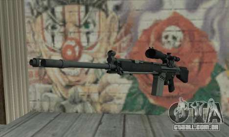 Rifle sniper de L4D para GTA San Andreas