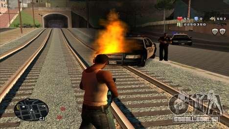 C-Hud by Stan Gomez para GTA San Andreas terceira tela