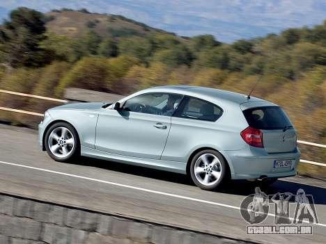 Arranque telas BMW 116i para GTA 4 segundo screenshot