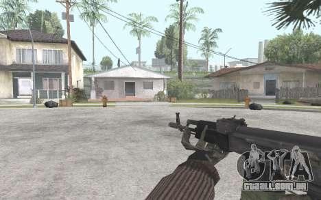 AK-101 para GTA San Andreas terceira tela