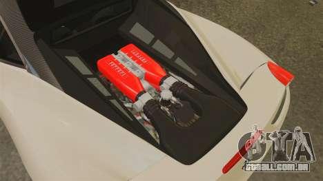 Ferrari 458 Italia 2011 para GTA 4 vista interior