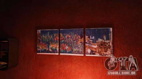 Novos cartazes no apartamento Playboy para GTA 4 segundo screenshot