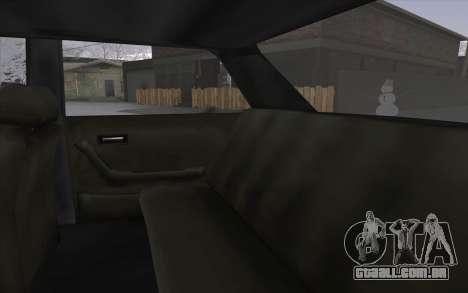 VC Admiral para GTA San Andreas vista interior