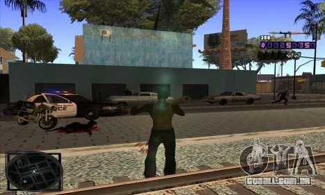 C-HUD Belenky para GTA San Andreas por diante tela
