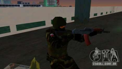 Lutador Alfa Antiterror para GTA Vice City segunda tela