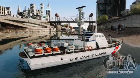 Canhoneira U.S. Coastguard para GTA 4 esquerda vista