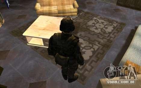 Soldados do SA, e a guarda Nacional Mississippi para GTA San Andreas segunda tela