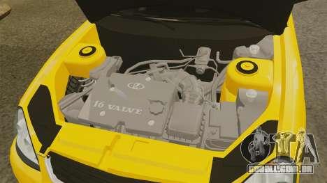 VAZ-Lada 2170 Priora para GTA 4 vista interior