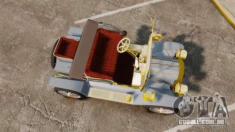 Ford Model T 1910 para GTA 4 vista direita