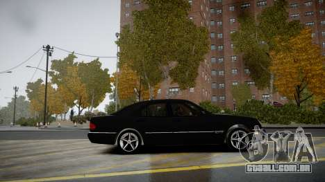 Mercedes-Benz E280 Beta para GTA 4 esquerda vista