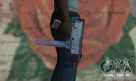 Tec-9 para GTA San Andreas terceira tela