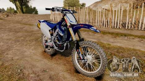 Kawasaki KX250F (Yamaha) para GTA 4