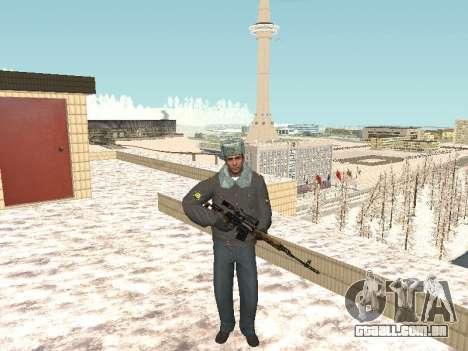 Pack de russo de armas de pequeno para GTA San Andreas