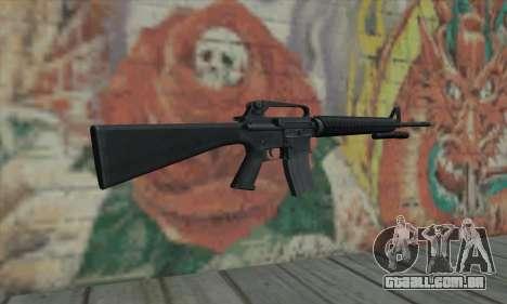 M16 de L4D para GTA San Andreas segunda tela