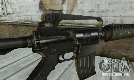 M4 из Conter Strike para GTA San Andreas terceira tela