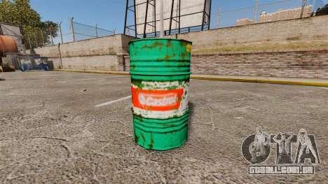Novos livros de colorir para barris para GTA 4 por diante tela