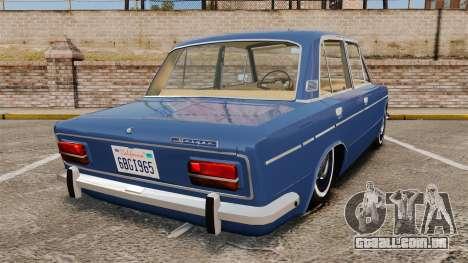 UTILIZANDO-2103 Lada para GTA 4 traseira esquerda vista