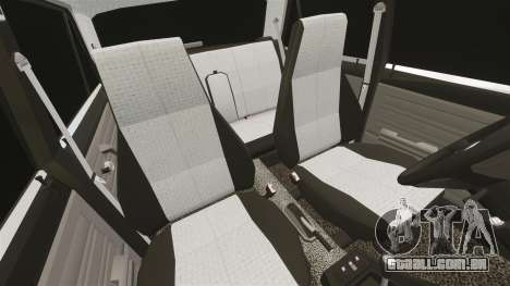 UTILIZANDO-Lada 2107 para GTA 4 vista superior