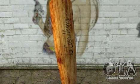 LCN Baseball bat para GTA San Andreas segunda tela