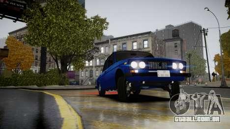 VAZ 2106 Baku para GTA 4 vista direita