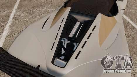 GTA V Grotti Turismo R para GTA 4 vista interior