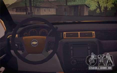 Chevrolet Silverado 2500 LTZ para GTA San Andreas vista direita