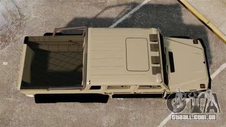Mercedes-Benz G63 AMG 6x6 para GTA 4 vista direita