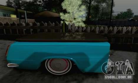 Trailer de Vaz 2102 para GTA San Andreas traseira esquerda vista