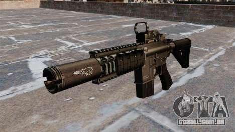 Carabina automática M4A1 Navy SEAL para GTA 4