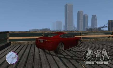 F620 из GTA 4 EFLC TBOGT para GTA 4 esquerda vista
