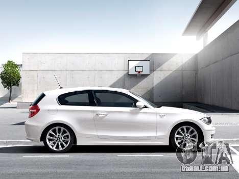 Arranque telas BMW 116i para GTA 4 por diante tela