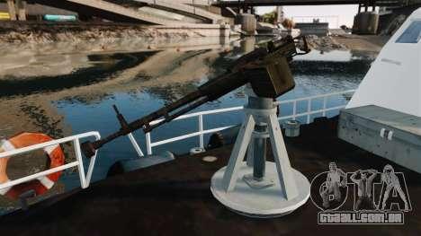 Canhoneira U.S. Coastguard para GTA 4 vista de volta