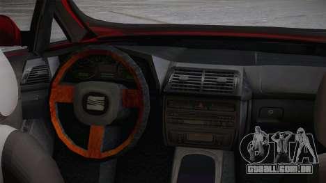 Seat Toledo 1.9TDi 2006 para GTA San Andreas vista direita