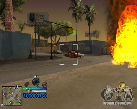 C-HUD Old School para GTA San Andreas terceira tela