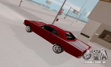 Plymouth Road Runner 383 1969 para o motor de GTA San Andreas