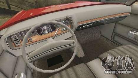 Dodge Polara 1971 para GTA 4 vista lateral