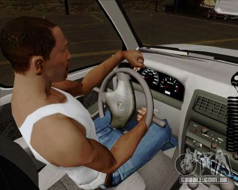 Nissan Terrano para GTA San Andreas interior