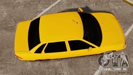 VAZ-Lada 2170 Priora para GTA 4 vista direita