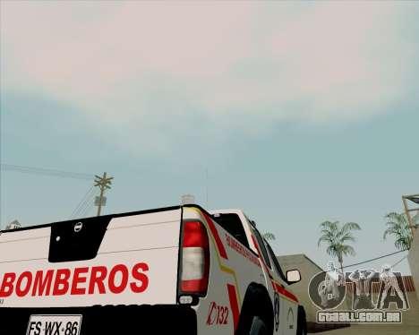 Nissan Terrano para vista lateral GTA San Andreas