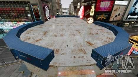 Open arena para veículos de combate para GTA 4 segundo screenshot
