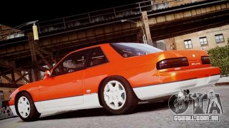 Nissan 240sx Dor de 1992 para GTA 4 vista de volta