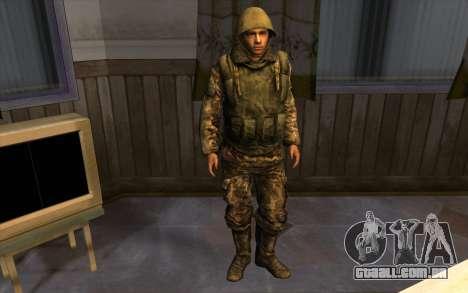 Soldados do SA, e a guarda Nacional Mississippi para GTA San Andreas por diante tela