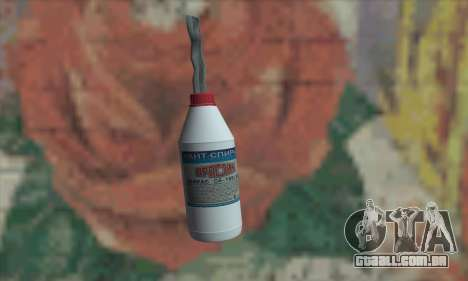 Uma garrafa de álcool para GTA San Andreas