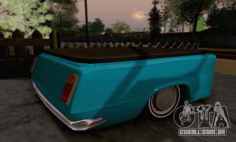 Trailer de Vaz 2102 para GTA San Andreas esquerda vista